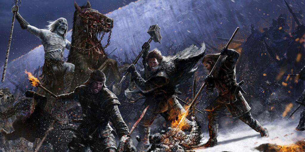 GRRM habla de la larga noche, la precuela de Game of Thrones
