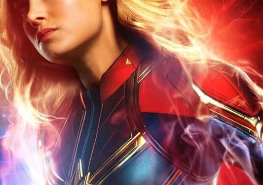 Mira los Nuevos Afiches de Capitana Marvel