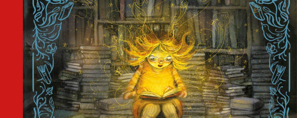 La niña que salvó los libros de Klaus Hagerup e ilustraciones de Lisa Aisato