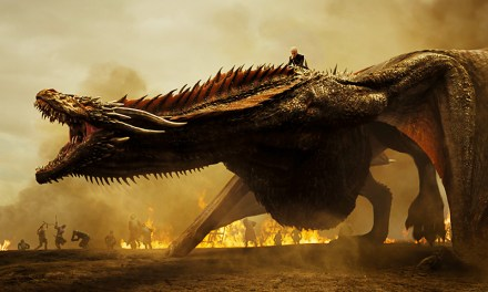 #ForTheThrone Drogon es parte del nuevo póster de Game of Thrones