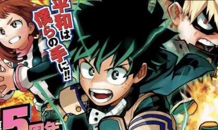 Los clips musicales para celebrar los 5 años del manga de Boku no Hero Academia