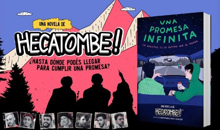 Hecatombe! llega a las librerías con «Una promesa infinita»