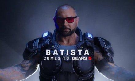 Dave Bautista será un personaje jugable en Gears 5