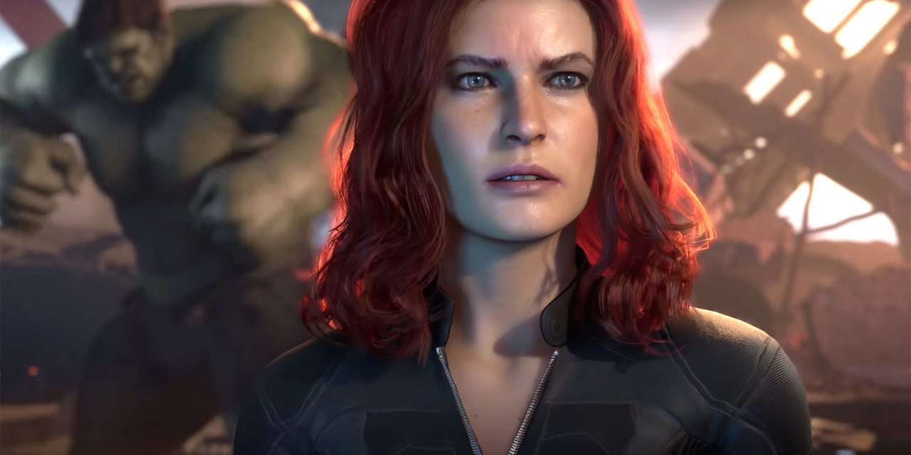 El primer vistazo a Black Widow en Marvel's Avengers