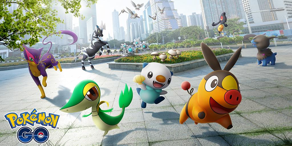 ¡La quinta generación llega a Pokémon Go!