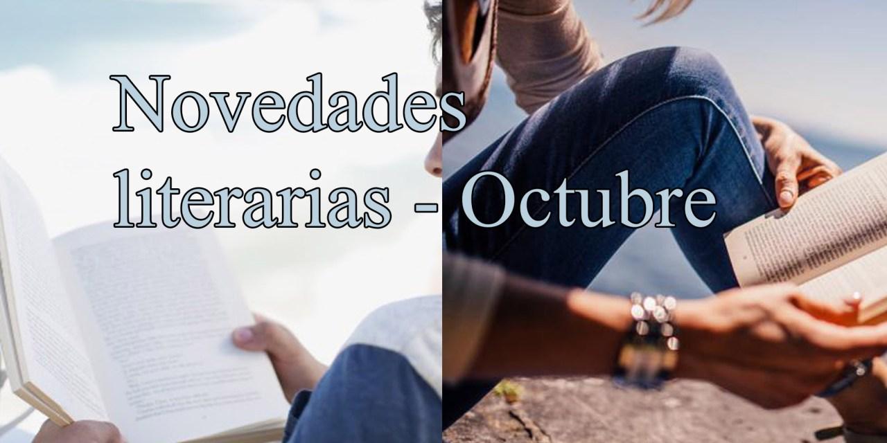 [Novedades literarias] Octubre
