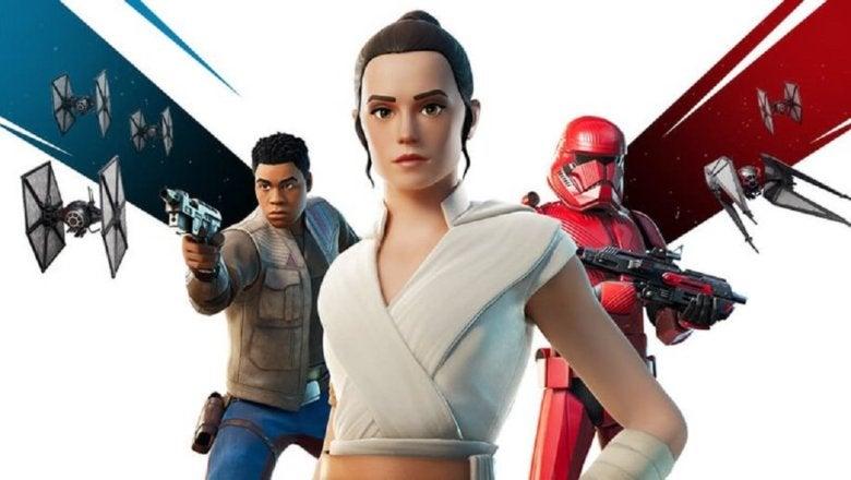 Fortnite ya tiene disponible el contenido de Star Wars: The Rise of Skywalker