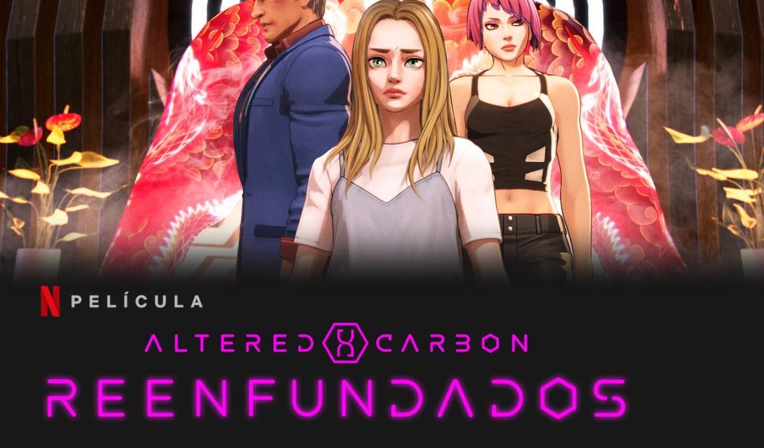[Reseña] «Altered Carbon Reenfundados»:  Spin-off animé de la serie por Dai Sato