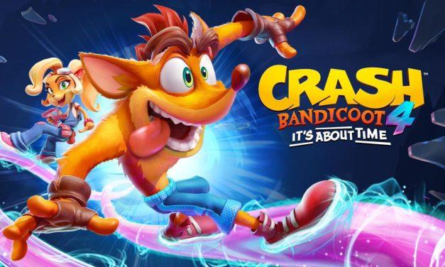 Crash Bandicoot 4: It's About Time se presenta con un trailer