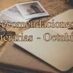 [Especial Novedades literarias] Octubre
