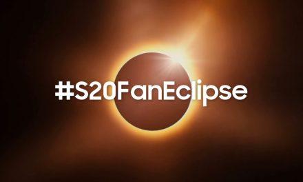 S20FanEclipse: El evento de este año inmortalizado desde las alturas