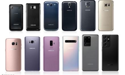 La camara en los smartphones desde el primer S al S21