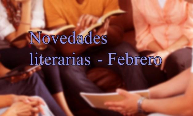 [Novedades literarias] Febrero