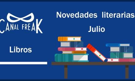 [Novedades literarias] Julio