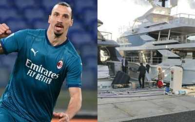 Ibrahimovic a Livorno per una barca da venti milioni di euro