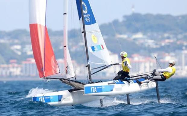 Il quinto oro, il primo misto per l'Italia: storici Tita-Banti nella vela!
