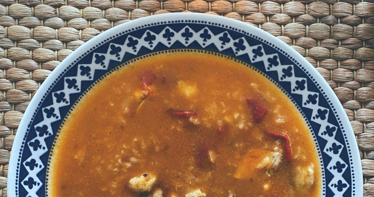 RECETAS PARA FRENAR LA CURVA: La sopa de pescado canalla