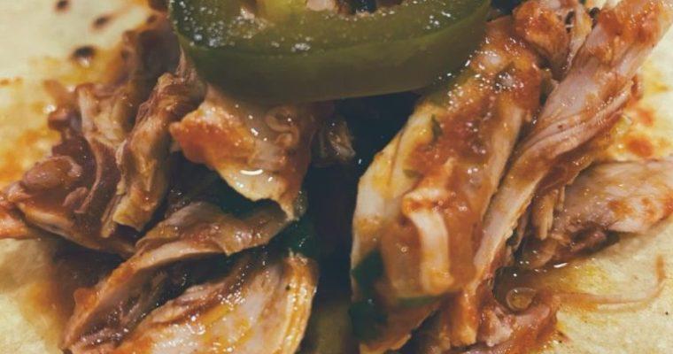 RECETAS PARA FRENAR LA CURVA: Tinga de pollo.