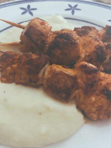 Los pinchos de pollo casi andaluces