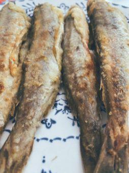Los bacaladitos fritos