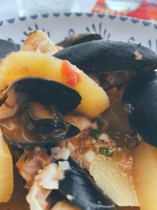 La humilde Zarzuela de mariscos
