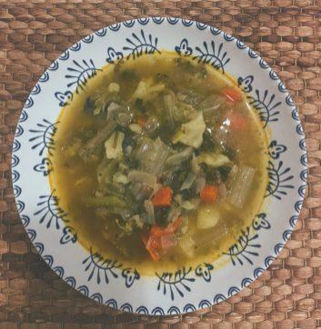 La sopa de acelgazas