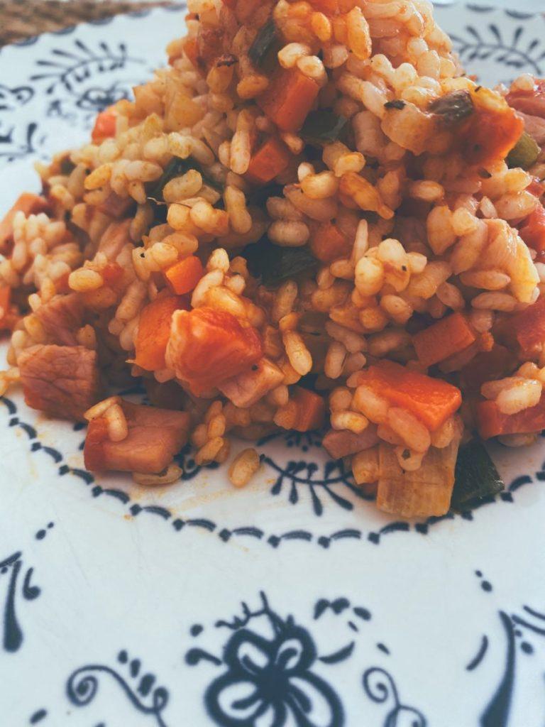 El arroz con sobrasada