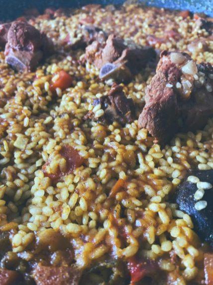 El arroz con pollo