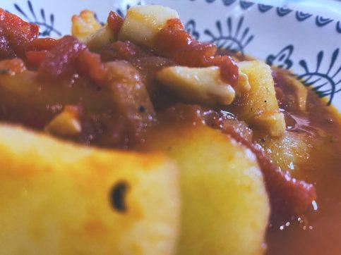 La sepia guisada con patatas