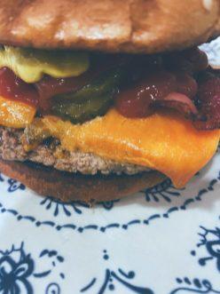 La hamburguesa angustiosa