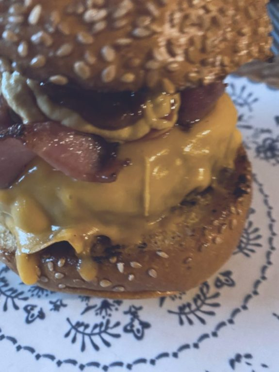 La hamburguesa con mojo de Daviz Muñoz