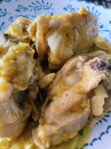 El pollo en pepitoria