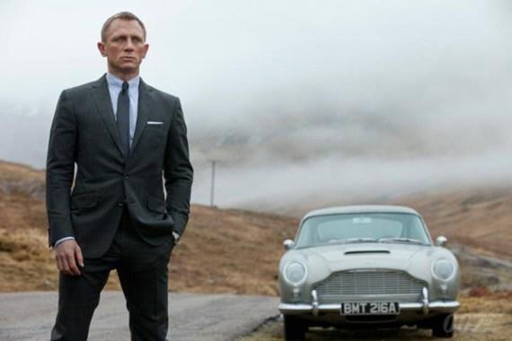 Caimento do terno - James Bond