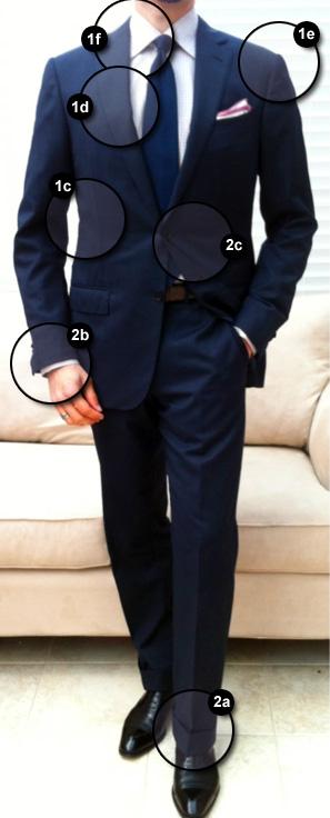 Terno masculino com medidas perfeitas - Caimento do terno