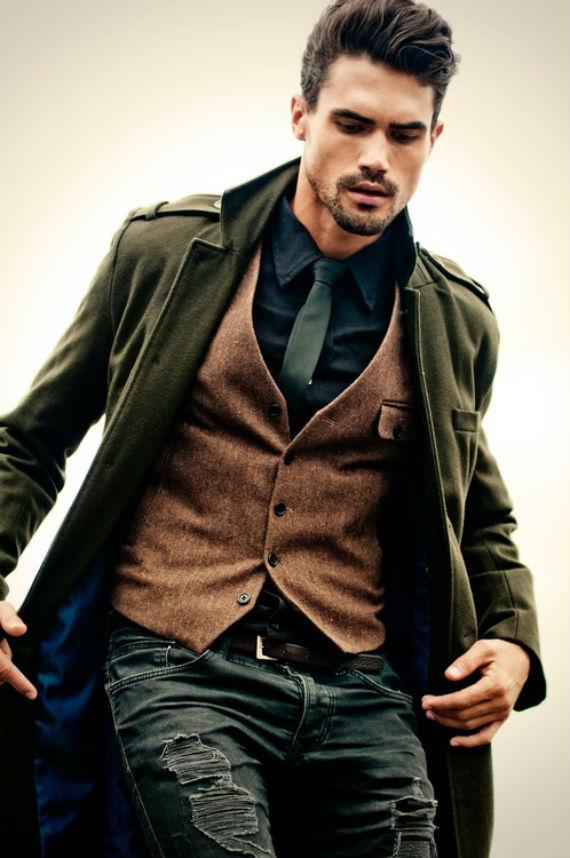 look_certo_casaco_militar_colete_e_jeans