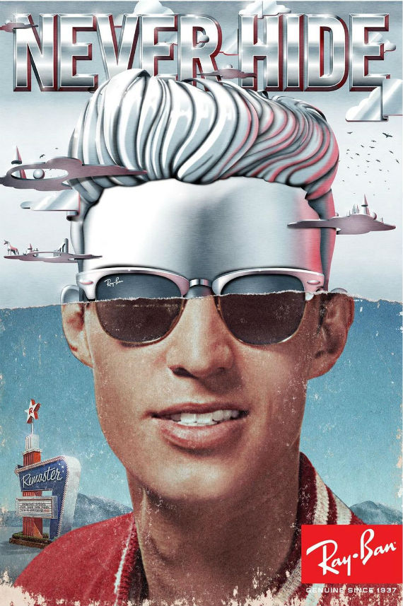 bb3f8f7eb056a Nova Coleção Ray-Ban Clubmaster em Alumínio Chega ao Brasil - Canal  Masculino Óculos de ...