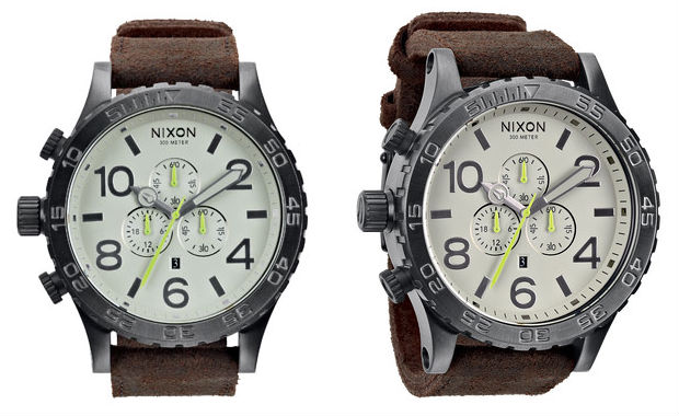 Nixon_The_Gunsmith_Collection_Chrono_51-30_Leather_Watch