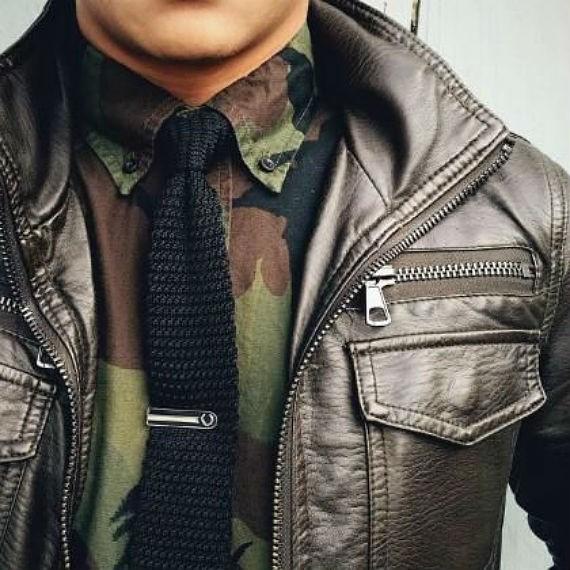 moda-masculina-militar-camisa-gravata-jaqueta
