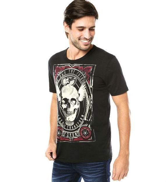 forum-camiseta-muscle-skull-preta