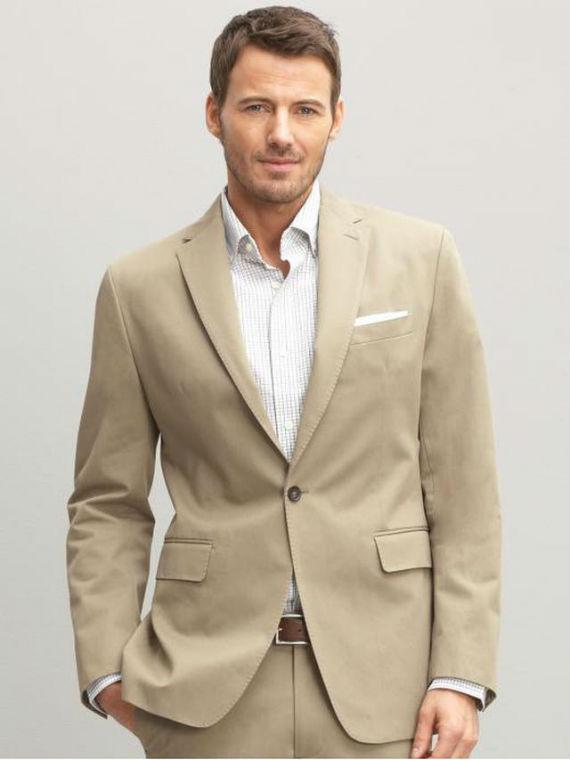 tecidos adequados para os homens no verão - algodão