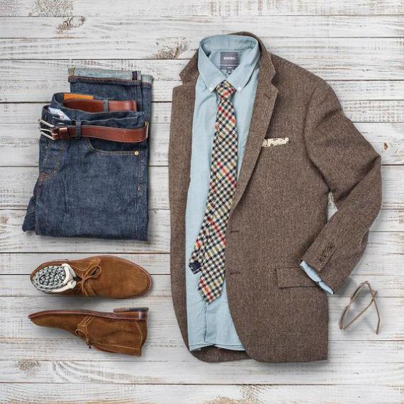 look-camisa-chambre-smart-casual-blazer