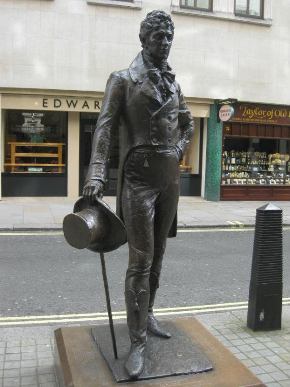 Beau_Brummell_Statue_Jermyn_Street