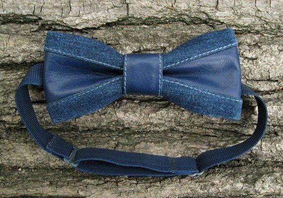 gravata-borboleta-azul-couro-jeans