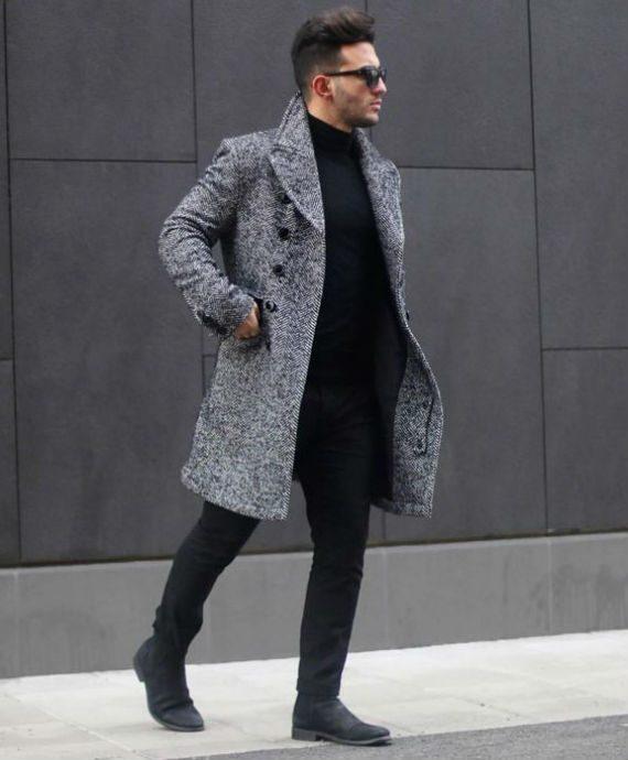 6 Sugestões de Looks Para o Inverno com Casacos Masculinos