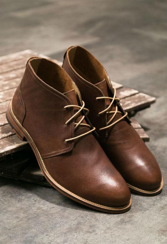 Quais São os Tipos de Botas Masculinas? - Chukka Boots