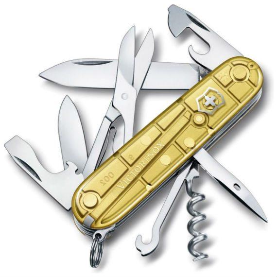 Victorinox Cria Canivete Com Detalhes em Ouro