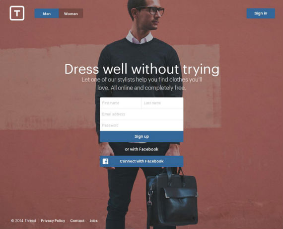 Thread.com Oferece E-Commerce Com Atendimento Personalizado