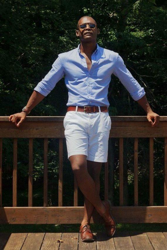 Dica: No Verão Experimente Trocar o Cáqui Por Branco ou Off-White