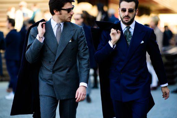 Os Homens Mais Elegantes da Pitti Uomo 91