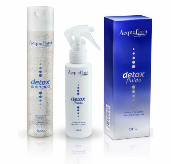 Testamos: Linha Detox da Acquaflora - Shampoo e Fluído